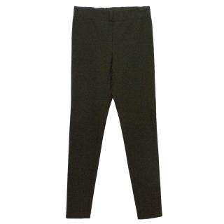 Joseph Khaki Gerbadine Stretch Trousers