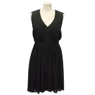 Jasmine Di Milo Black Button up Dress