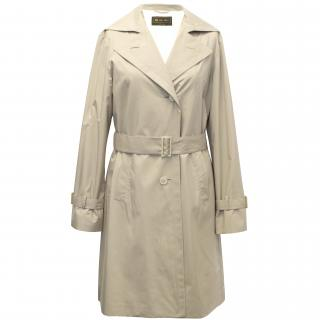 Loro Piana Beige Trench Coat