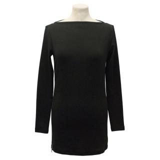 Ralph Lauren Black Label Black Knit Tunic