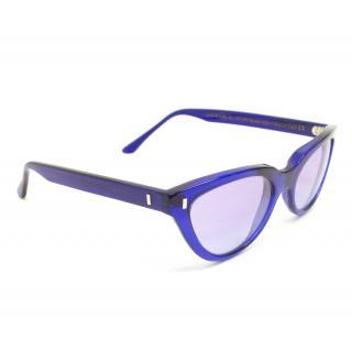 Cutler & Gross Purple Cat Eye Sunglasses
