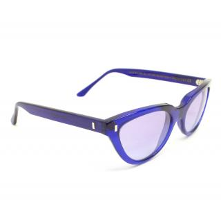 Cutler & Gross Purple Cat Eye Sunglasses