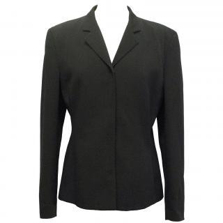 Prada Black Acetate Blazer