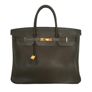 Hermes Birkin vert bronze 40 Receipt available