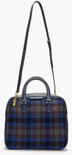 Marc by Marc Jacobs Plaid Show Tote