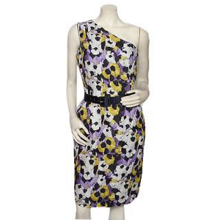 St John one shoulder dress