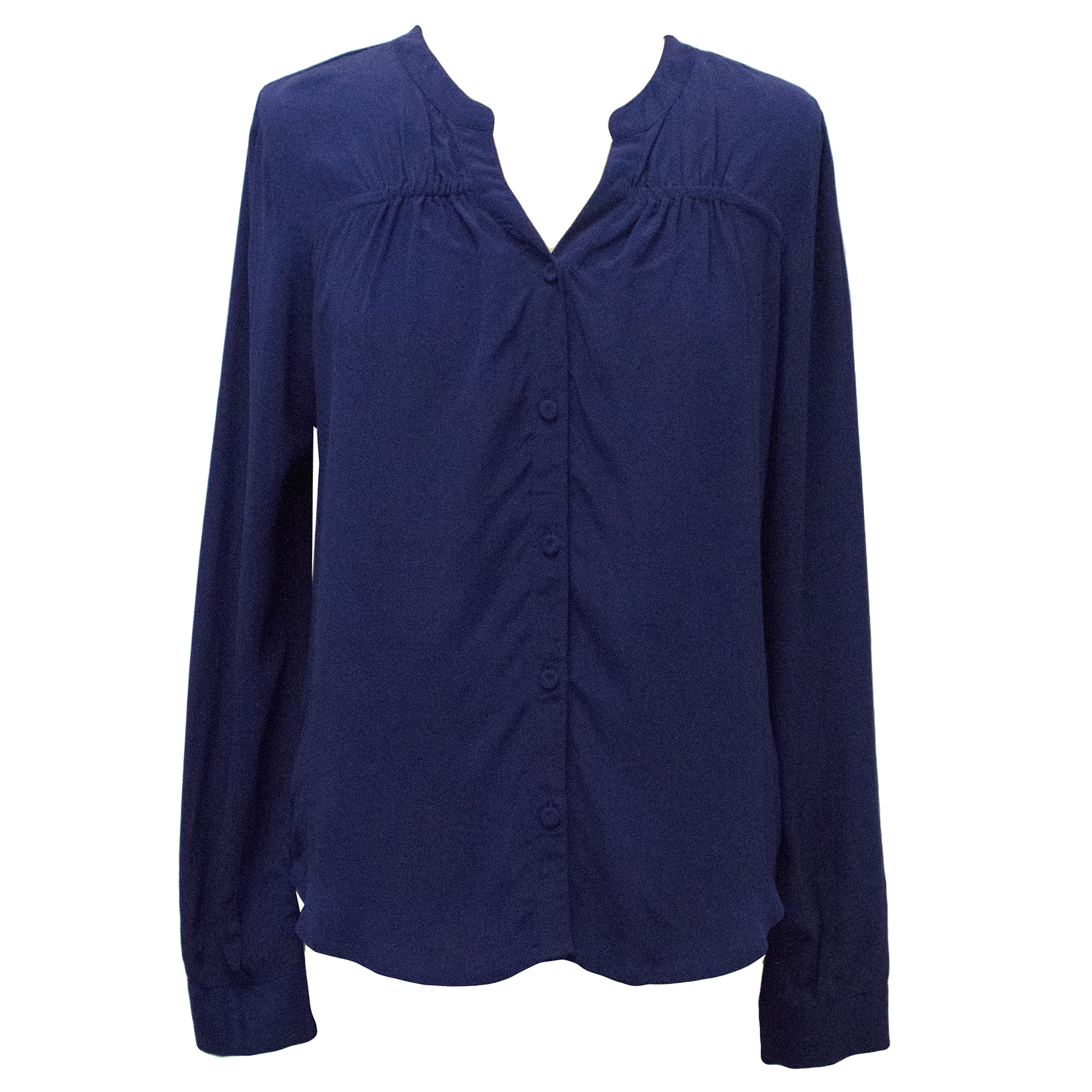 Pyrus Royal Blue Silk Top