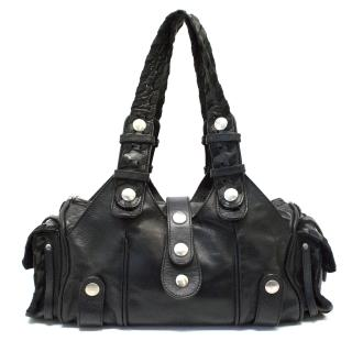 Chloe 'Silverado' Bag in Black Leather