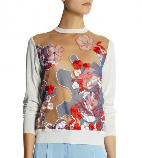 Jonathan Saunders off-white Trista sweater
