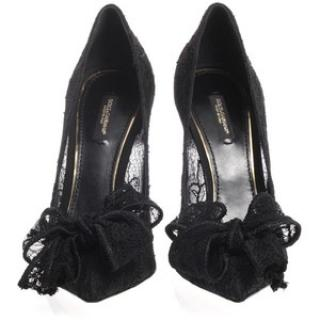Dolce & Gabanna Black Bellucci Pumps