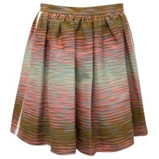 MSGM Patterned Full Mini Skirt
