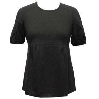 Burberry Wool Black Top