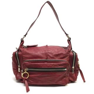 Chloe Red Shoulder Bag