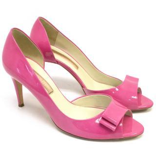 Rupert Sanderson Pink Peep Toes