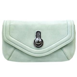 Raoul Mint Green 'Britt' Clutch