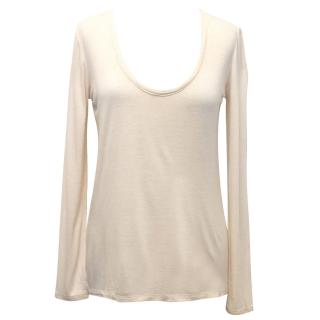 The Row Pale Pink Top