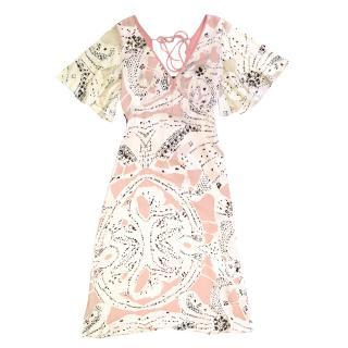 Temperley London Silk Sequined Dress