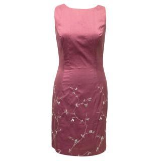 Favourbrook Pink Silk Dress