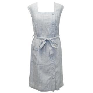 Leona Edmiston Light Blue Dress
