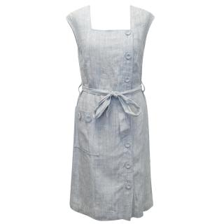 Leona Edmiston Light Blue Dress