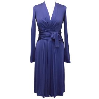 Issa Silk Cobalt Blue Dress