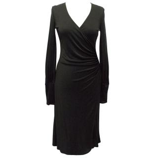 Issa Silk Black Dress