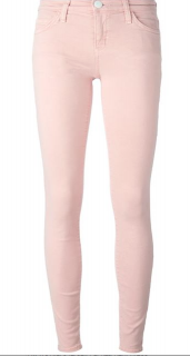 Current Eliott Pale Pink Jeans