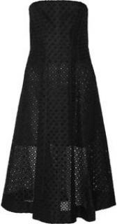 Stella McCartney Strapless Embroidered Organza Corset Dress