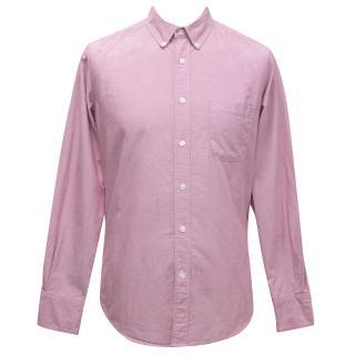 J.Lindeberg Pink Chambray Shirt