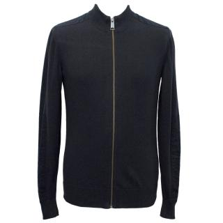 J.Lindeberg Navy Knit Zip Jacket