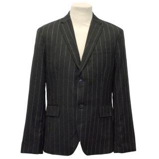J.Lindeberg Grey Pinstripe Blazer