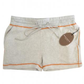 Banjo & Matilda Grey Silk and Cashmere Blend Shorts