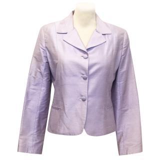 Favourbrook Lilac Silk Jacket