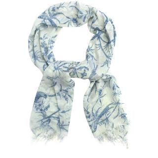 Alice by Temperley Bird Print Scarf