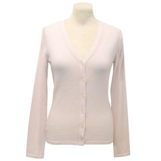Pringle of Scotland Light Pink Cashmere Cardigan