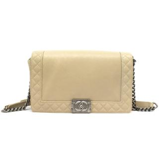 Chanel Medium Nude 'Boy' Bag