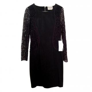 Sea NY Embroidered Lace Dress