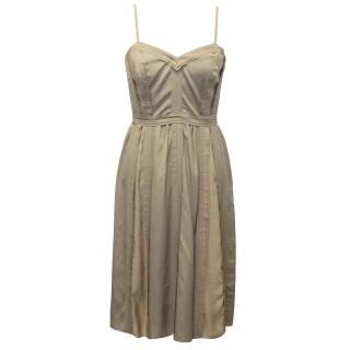 Burberry Taupe Dress