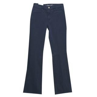 Mih Jeans 'Marrakesh' Blue Kick Flare Jeans