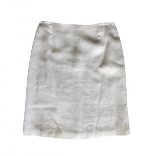 Olivier Strelli Linen Pencil Skirt