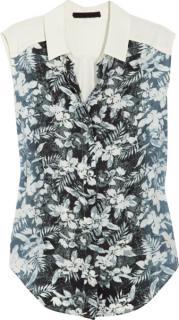 Alexander Wang Floral Print Silk Shirt