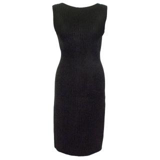 Alaia Black Valentina Dress