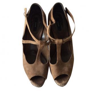 Bally Peep Toe Shoes