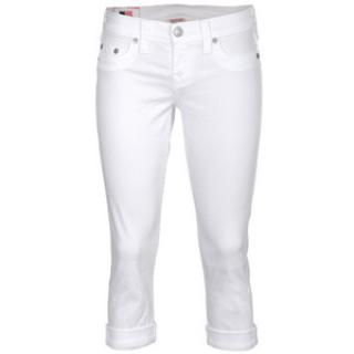 True Religion New Lizzy White Jeans