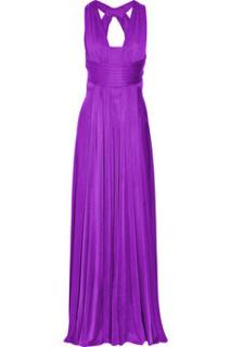 Issa Purple Silk Gown