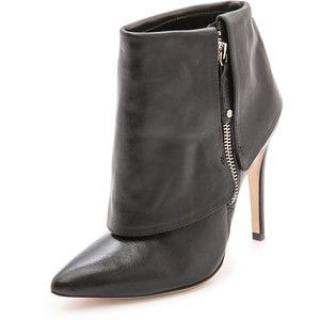 Alice + Olivia Leather Ankle  Boots sz 37,5