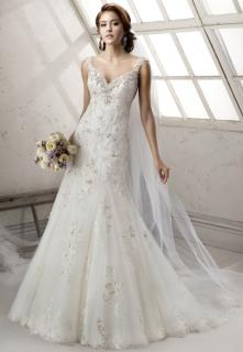 Sottero and Midgley Vidal wedding dress