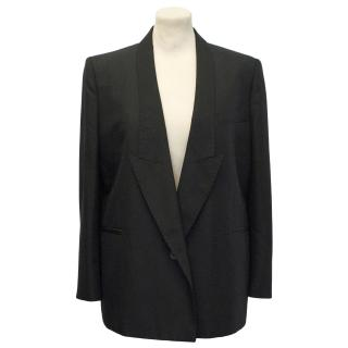 Stella McCartney Black Silk Blazer