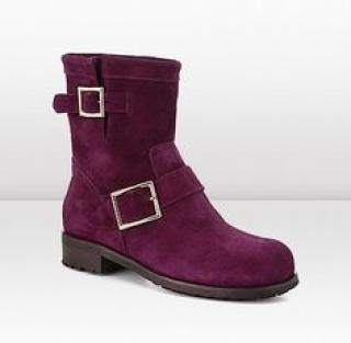 Jimmy Fuschia  Choo Boots