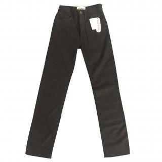 Acne high waisted Black jeans